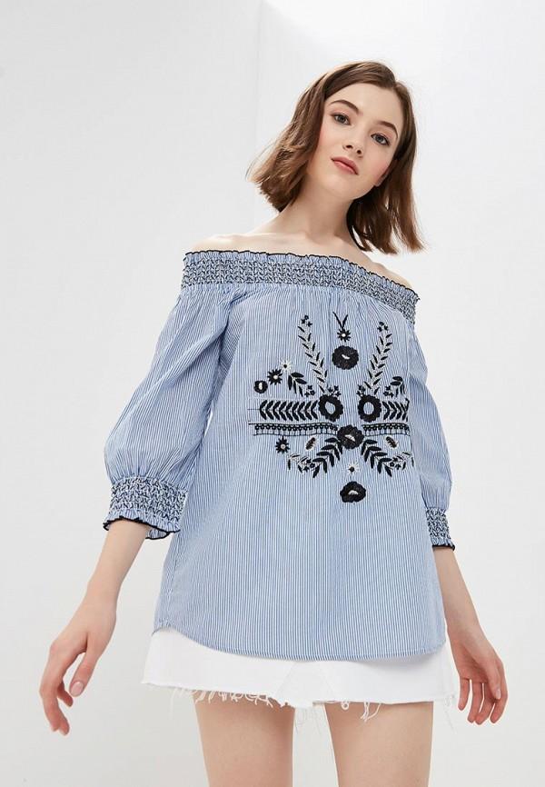 Блуза Deeluxe Deeluxe DE039EWBFZM0 футболка deeluxe deeluxe de039embfzv5