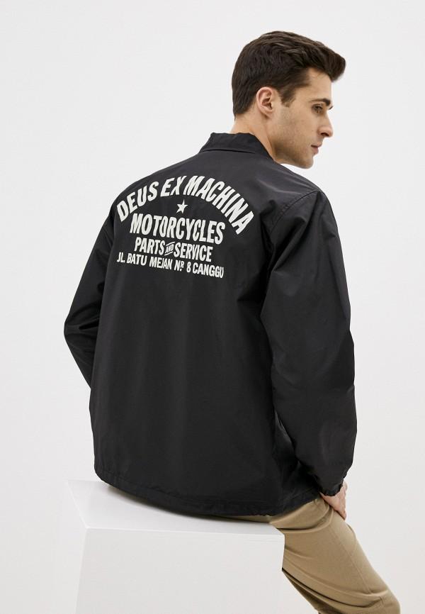 мужская куртка deus ex machina, черная