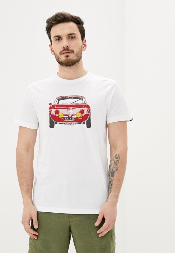 мужская футболка с коротким рукавом deus ex machina, хаки