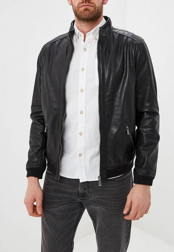 Куртка кожаная Deercraft