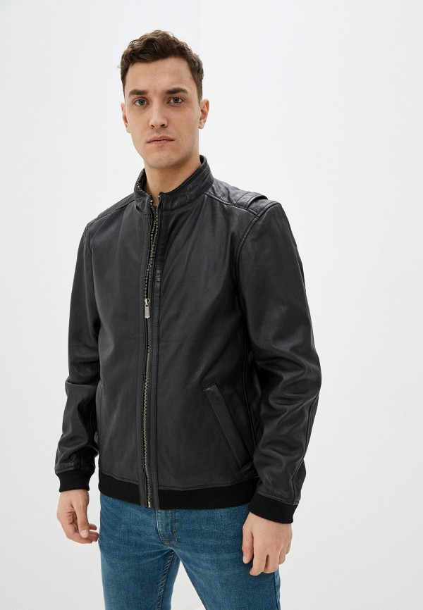 мужская куртка deercraft, черная