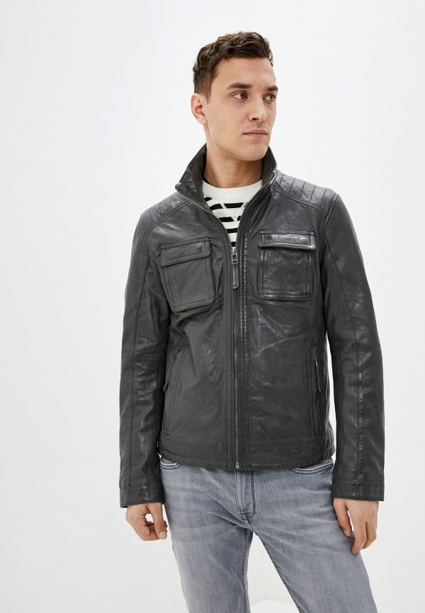 мужская куртка deercraft, серая
