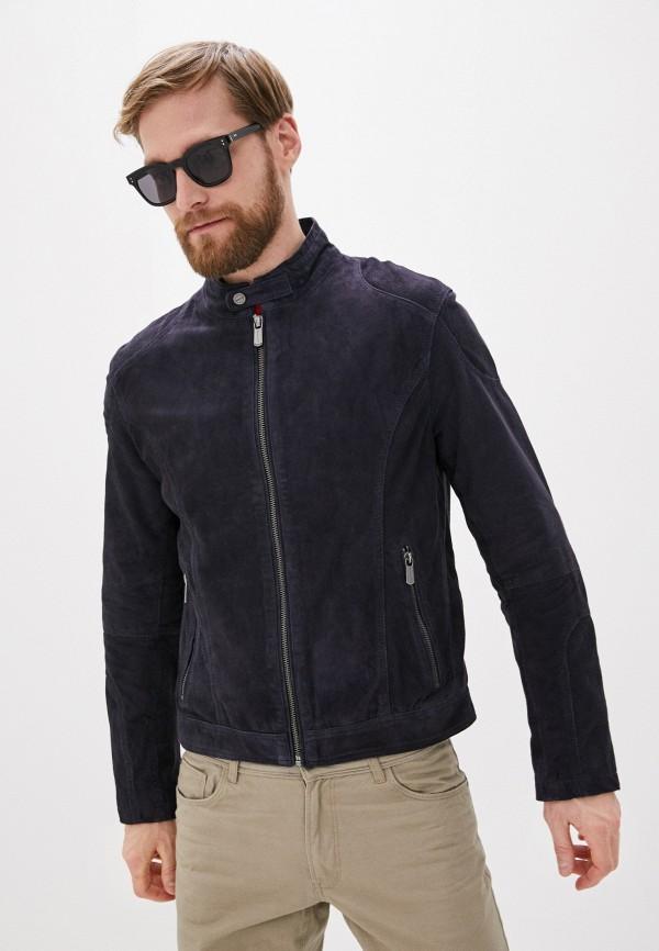 мужская куртка deercraft, синяя