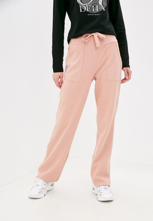 женские брюки deha, розовые