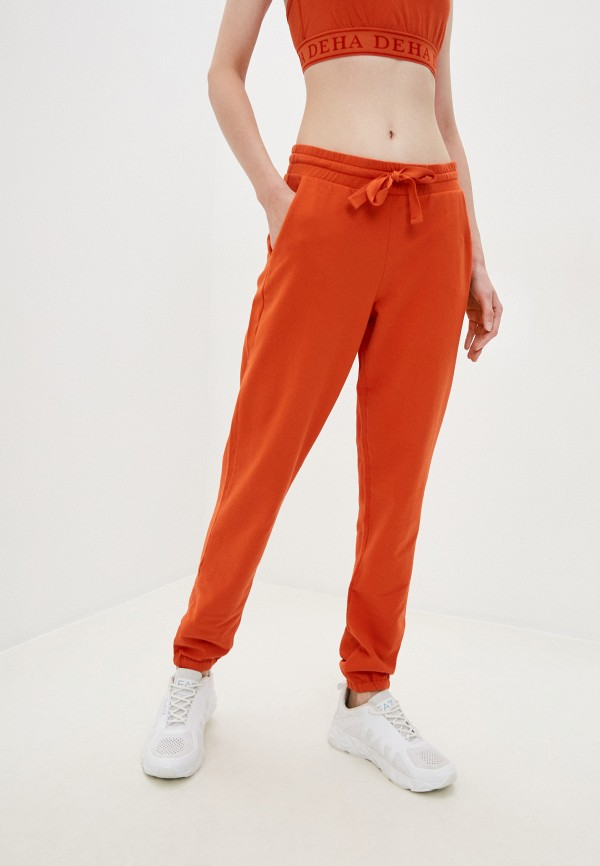 женские спортивные брюки deha, оранжевые