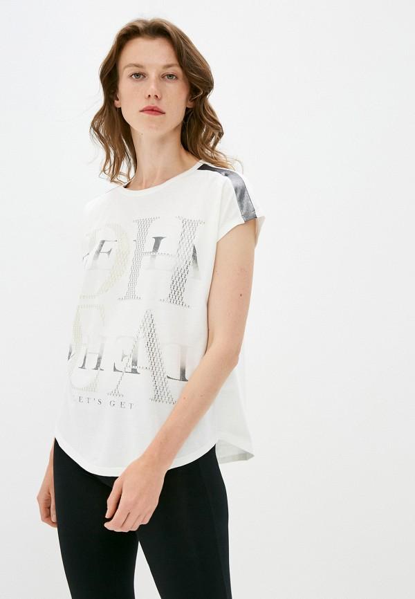 женская футболка deha, белая