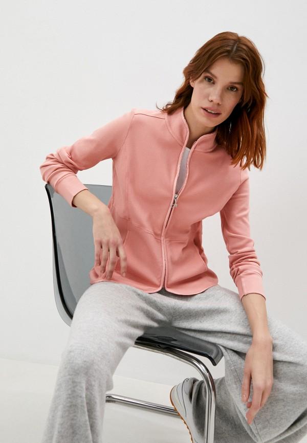 женская олимпийка deha, розовая