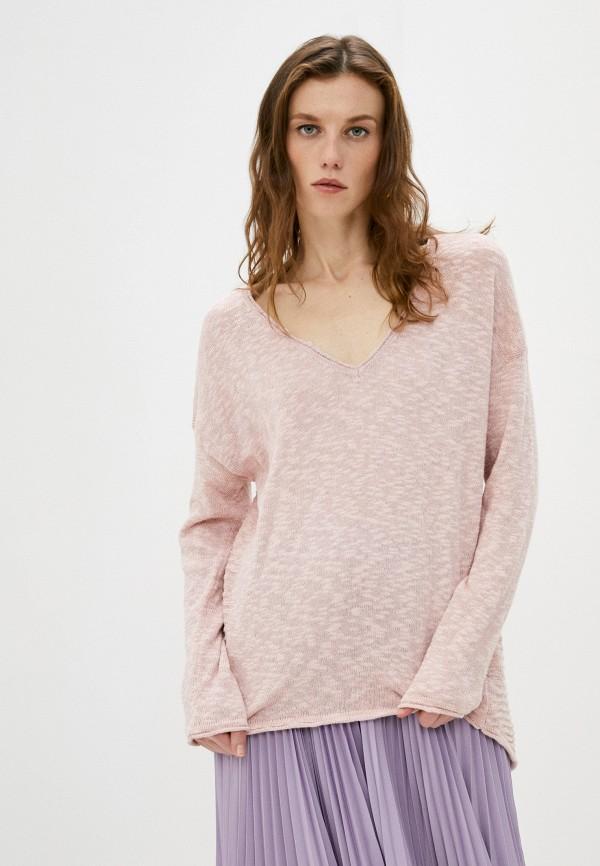 женский пуловер deha, розовый