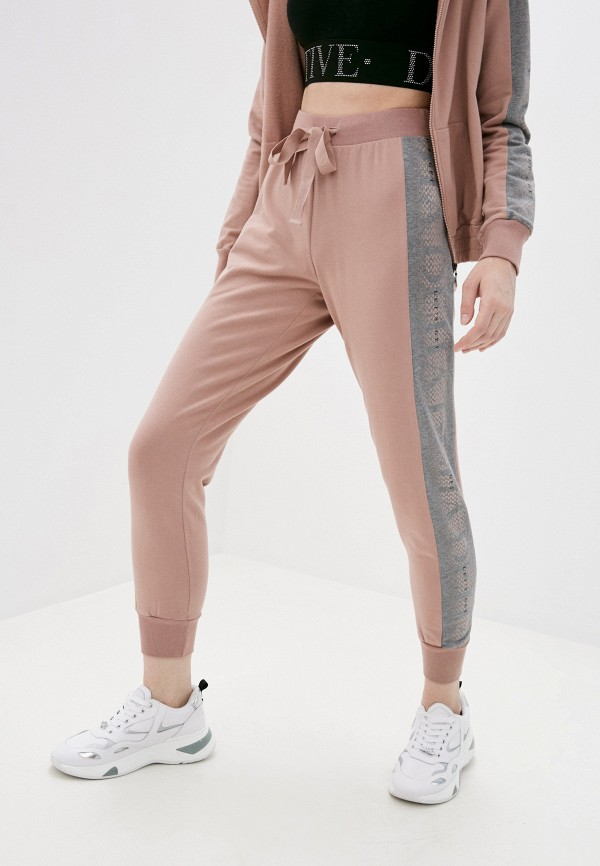 женские спортивные брюки deha, розовые