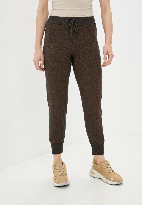женские брюки deha, коричневые