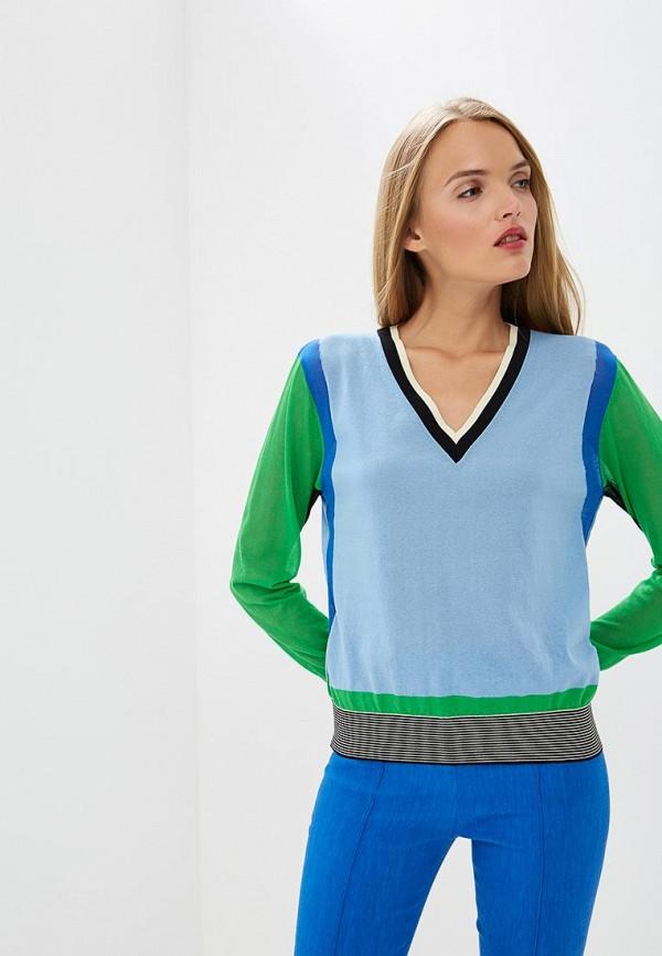 Пуловер Diane von Furstenberg Diane von Furstenberg DI001EWBSVL4 водолазка diane von furstenberg diane von furstenberg di001ewbsvr5