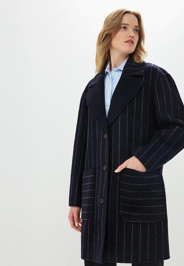 женское пальто diane von furstenberg, синее