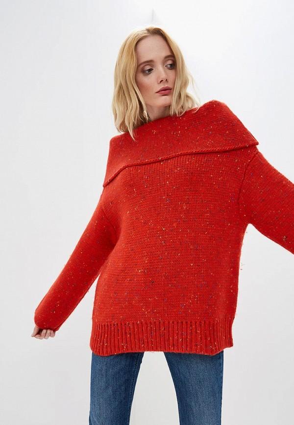 женский свитер diane von furstenberg, красный