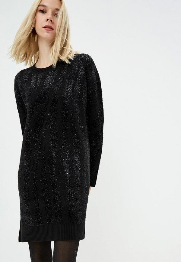 женское платье diane von furstenberg, черное