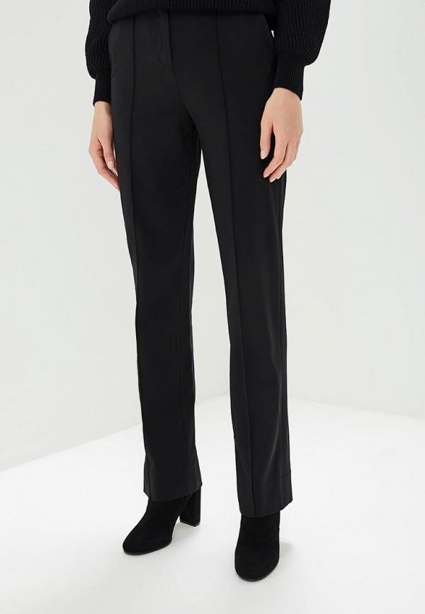 женские классические брюки diane von furstenberg, черные