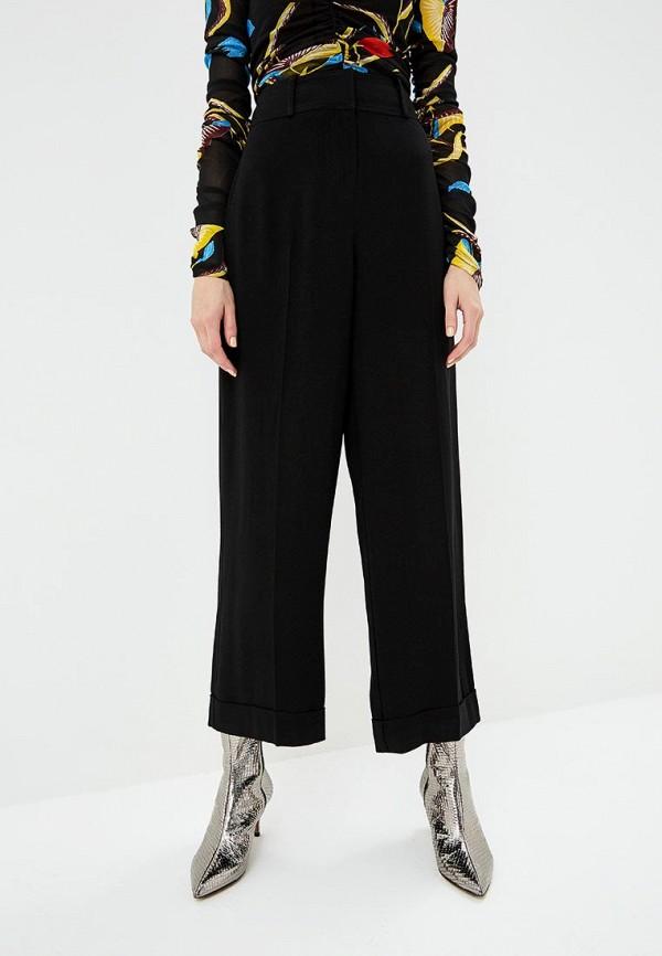 женские повседневные брюки diane von furstenberg, черные