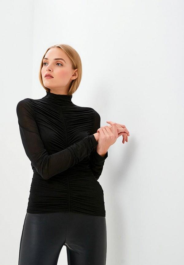 женская блузка diane von furstenberg, черная