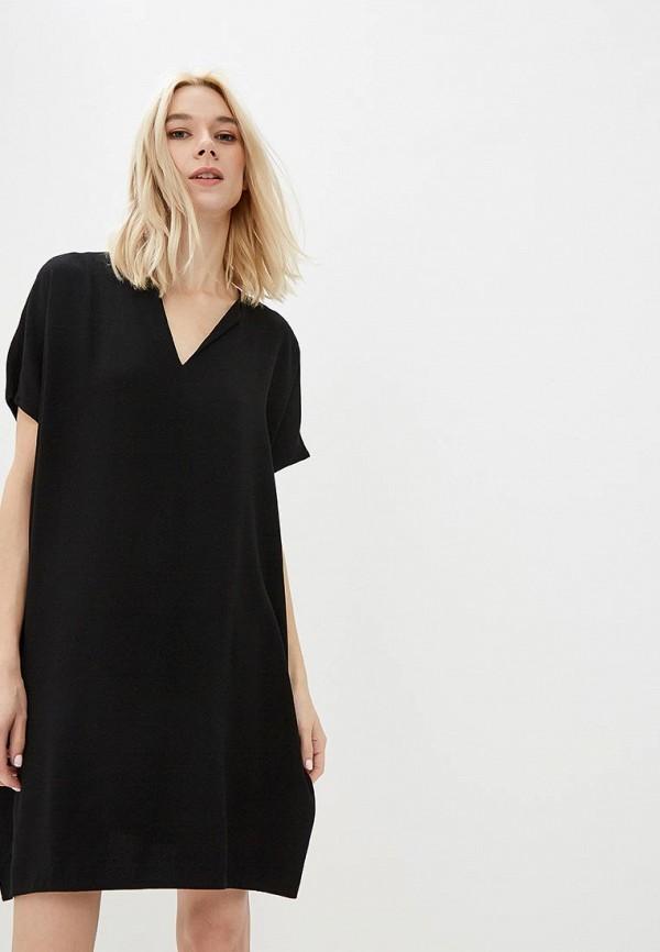 женское повседневные платье diane von furstenberg, черное