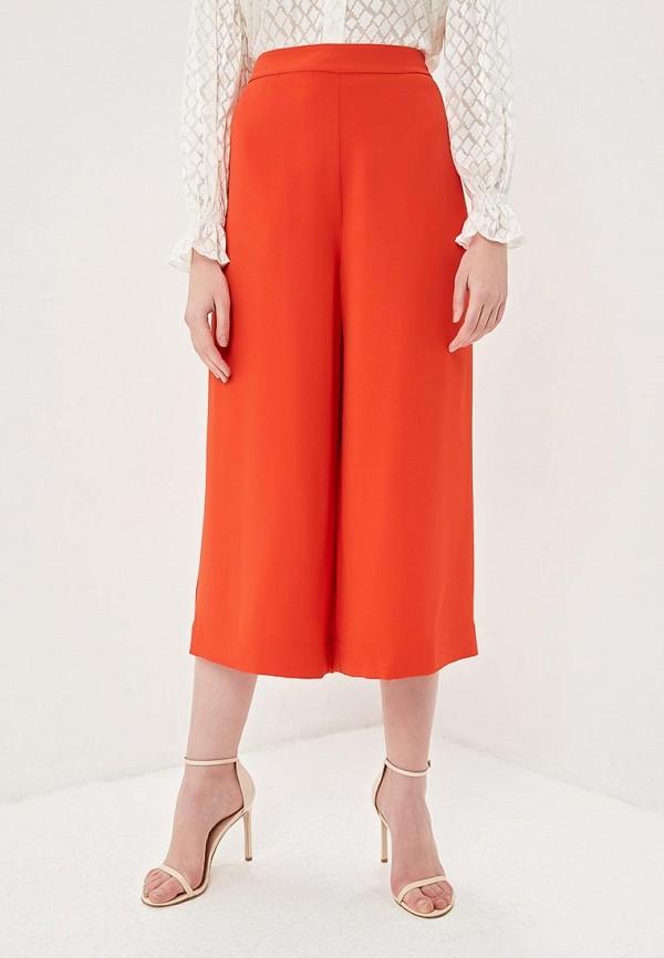 женские брюки diane von furstenberg, красные