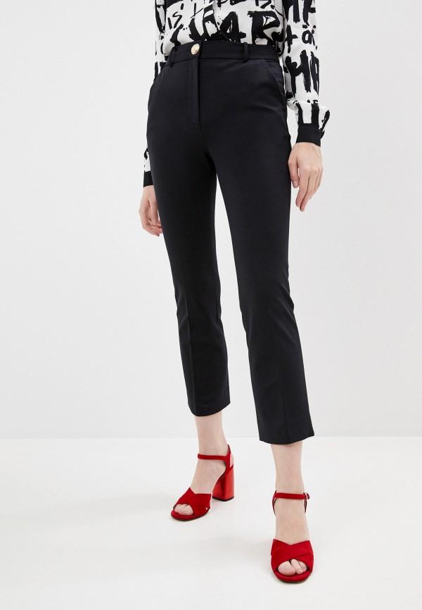 Брюки Diane von Furstenberg черного цвета