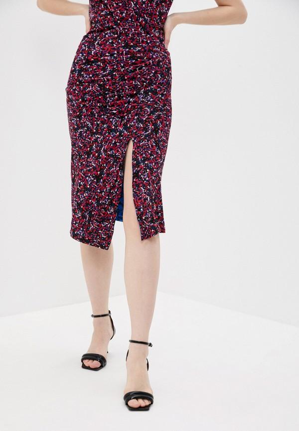 женская узкие юбка diane von furstenberg, разноцветная