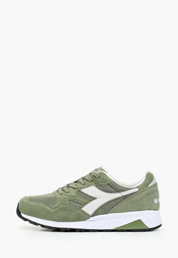 мужские кроссовки diadora, зеленые