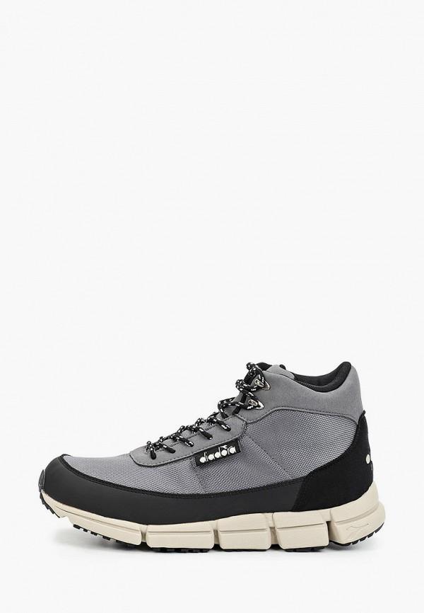 мужские ботинки diadora, серые
