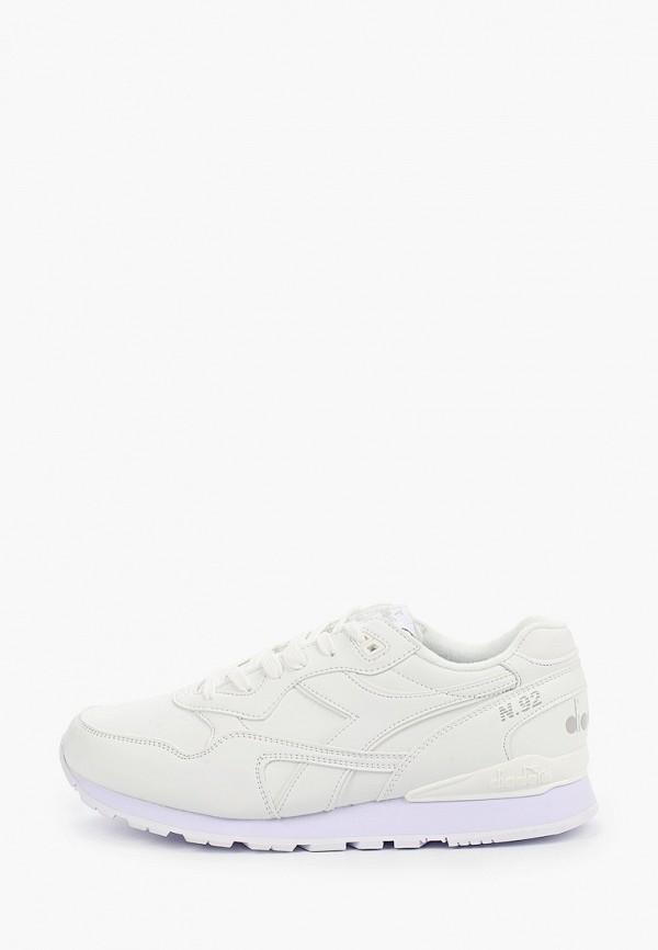 мужские кроссовки diadora, белые