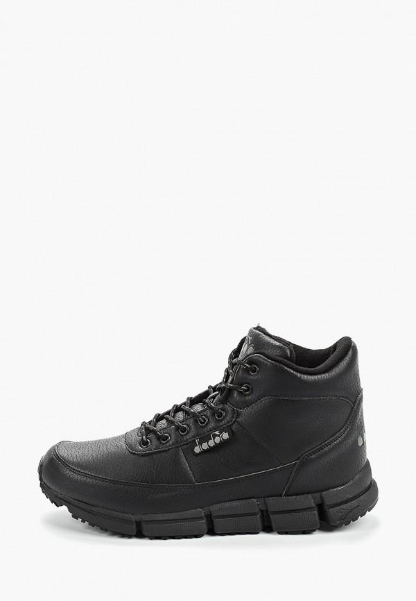 мужские кроссовки diadora, черные