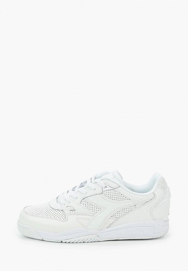 мужские кеды diadora, белые