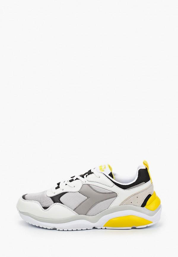 мужские кроссовки diadora, серые