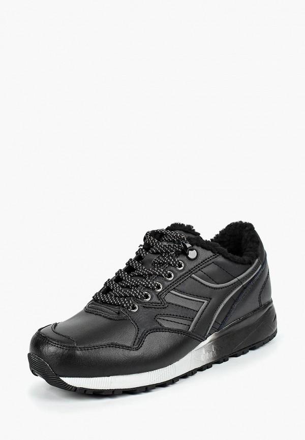 женские кроссовки diadora, черные