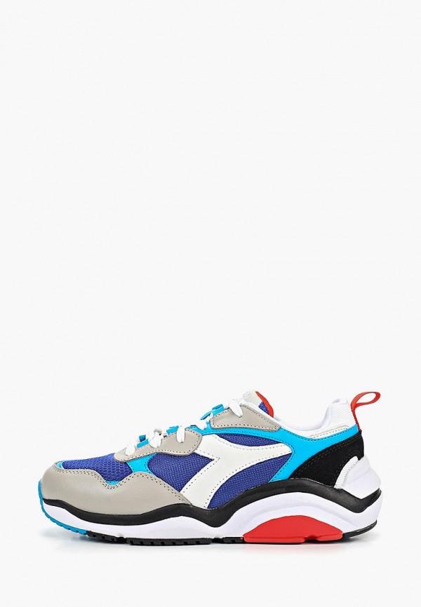 женские кроссовки diadora, синие