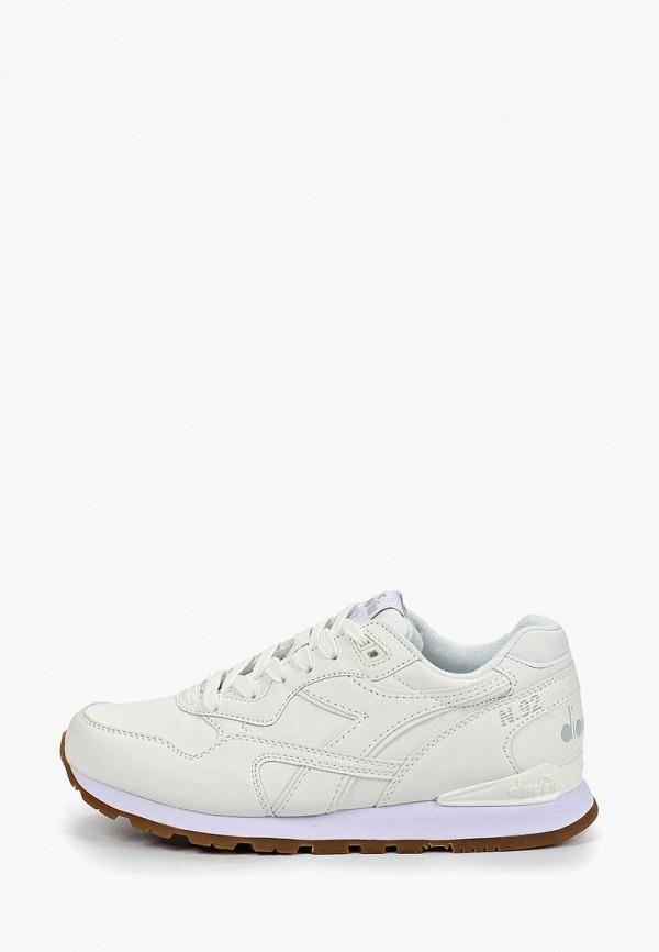 женские кроссовки diadora, белые