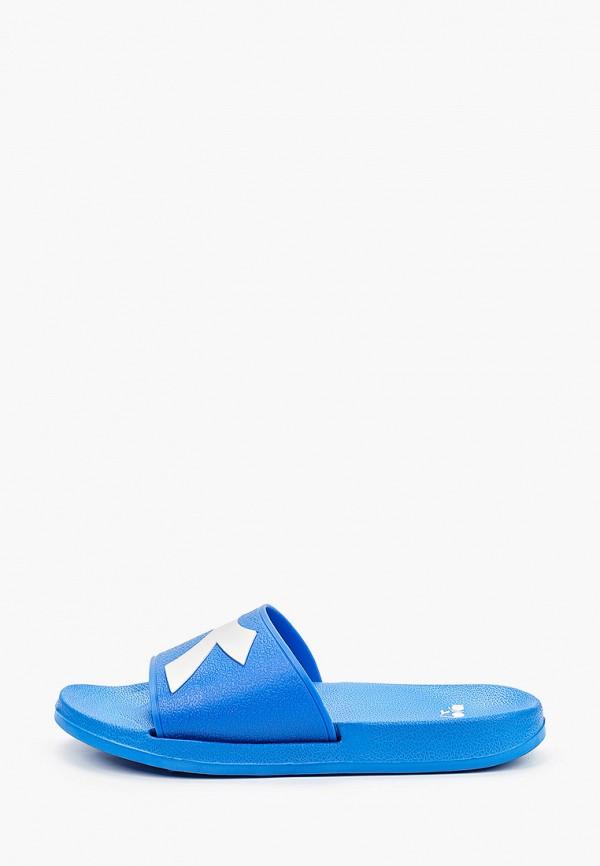 женские сланцы diadora, синие