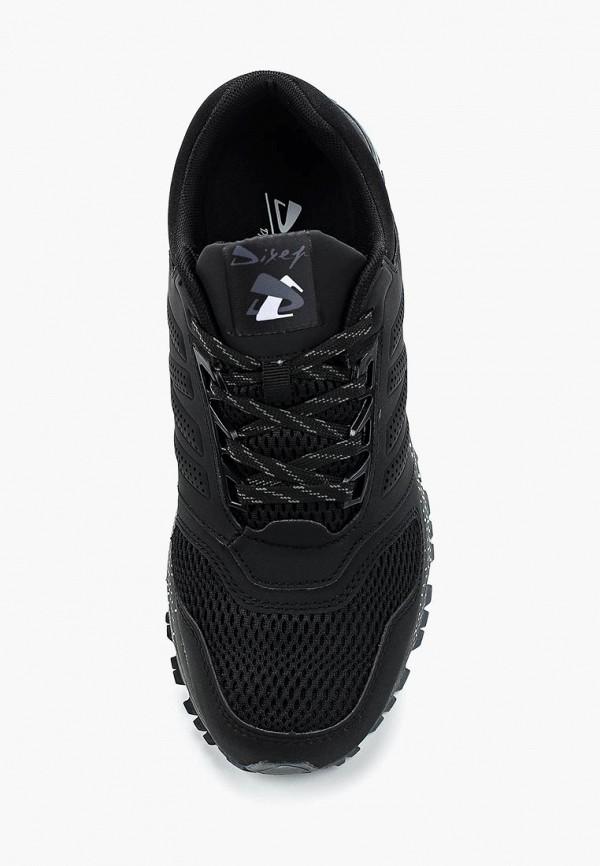 Фото 4 - Мужские кроссовки Dixer черного цвета