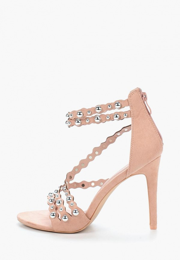 женские босоножки diamantique, розовые