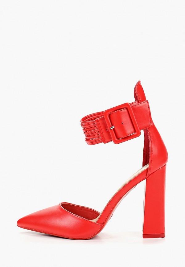 женские туфли diamantique, красные