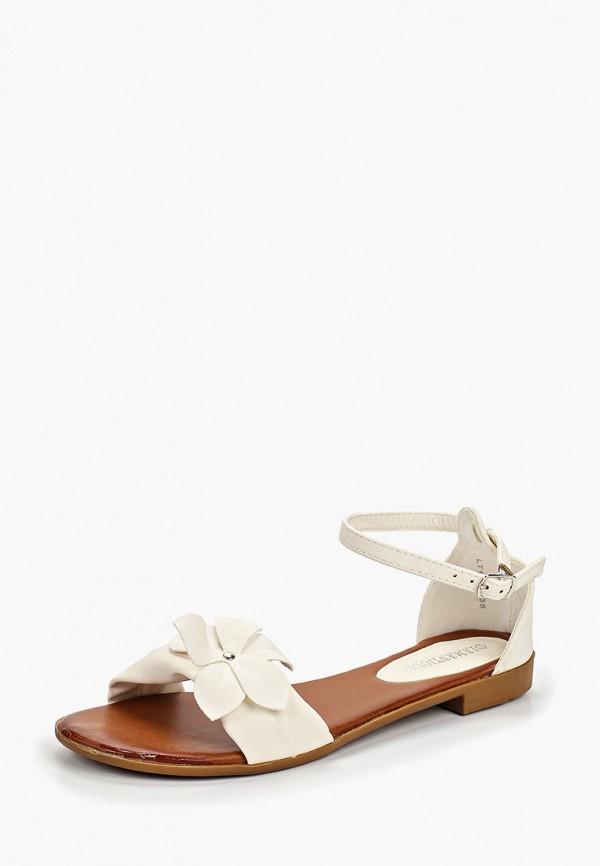 Фото 2 - женские сандали Diamantique белого цвета