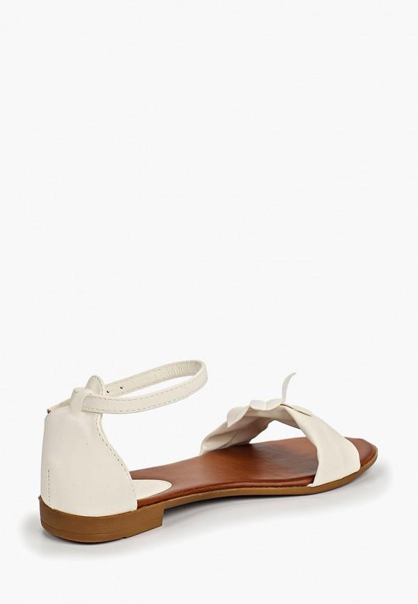 Фото 3 - женские сандали Diamantique белого цвета
