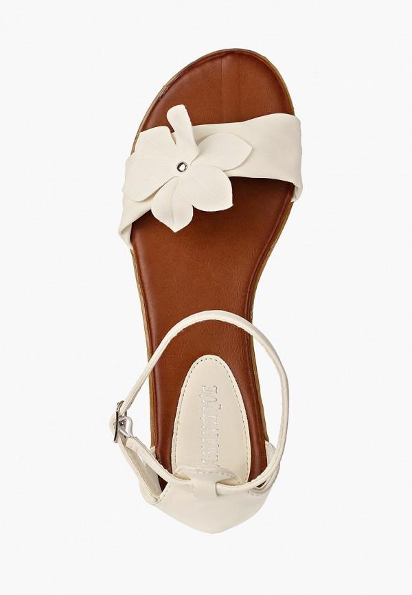 Фото 4 - женские сандали Diamantique белого цвета