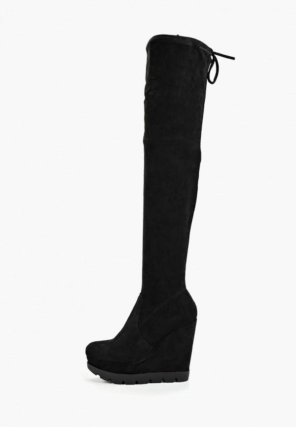 женские ботфорты diamantique, черные