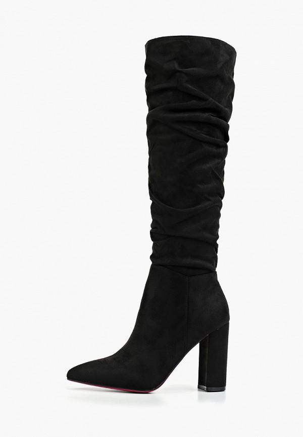 женские сапоги diamantique, черные