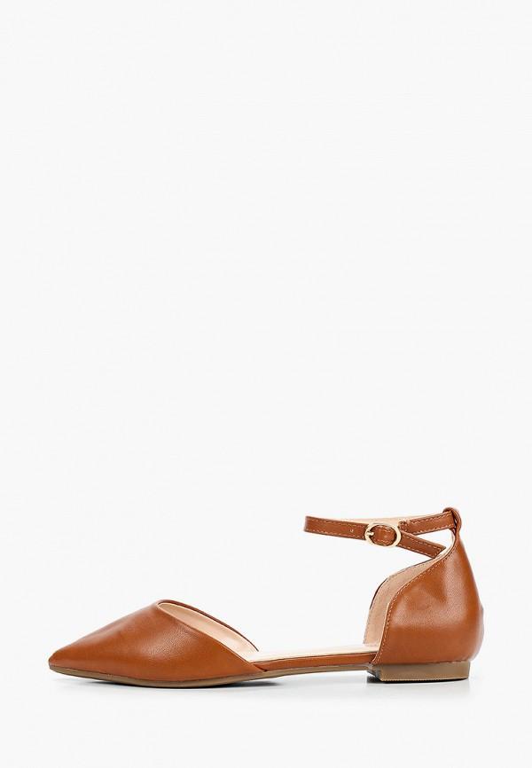 женские туфли diamantique, коричневые