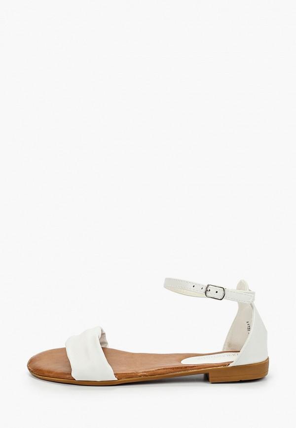 женские сандалии diamantique, белые