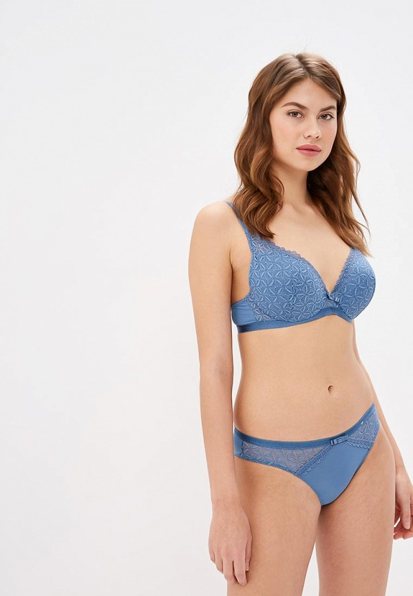 женский бюстгальтер push-up dim, синий