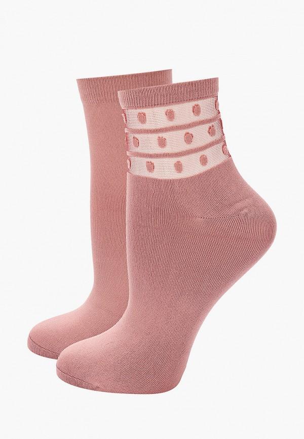 женские носки dim, розовые