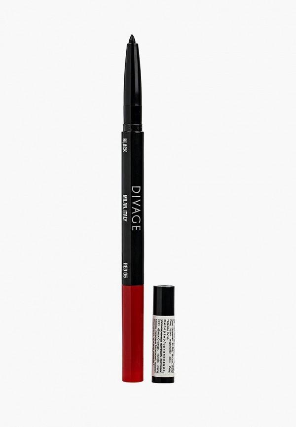 Карандаш для глаз Divage Divage DI038LWJBP39 карандаш для бровей divage divage di038lwvsl30