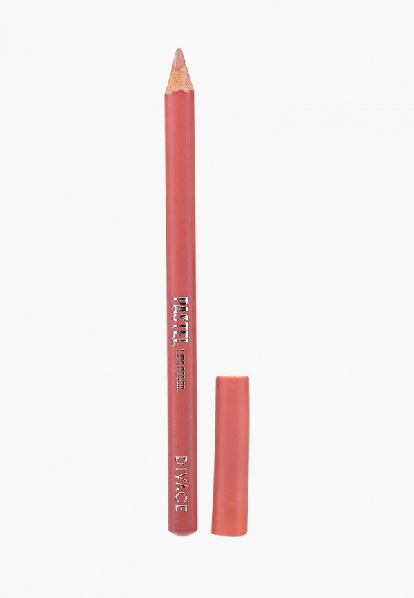 Карандаш для губ Divage Divage DI038LWRFA35 карандаш для губ divage pastel 02 цвет 2202 variant hex name eb9daa