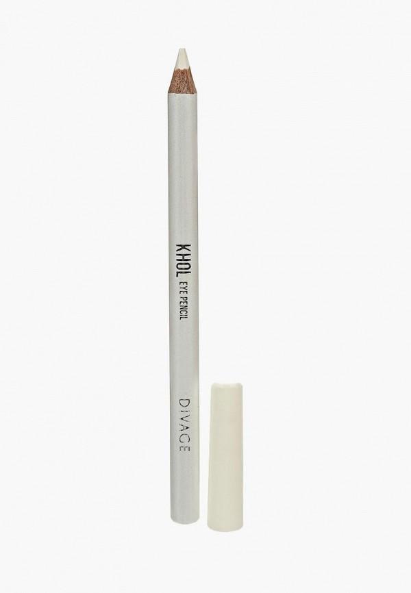 Карандаш для глаз Divage Divage DI038LWSDM46 givenchy magic khol карандаш для глаз белый